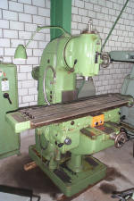 "vertical milling machine ""TOS"" [1]"